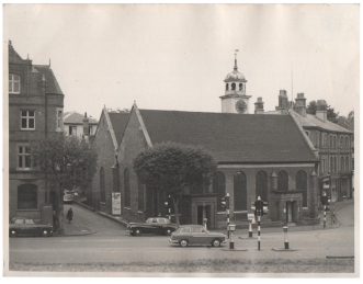 Original photograph of the church of King Charles the Martyr 11/10/1959.