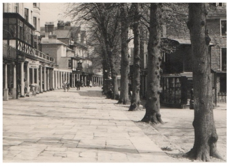 Original photograph of the Pantiles circa 1960.