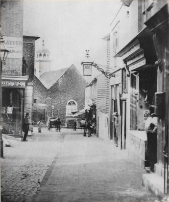 Original Photograph of Chapel Place circa 1860.