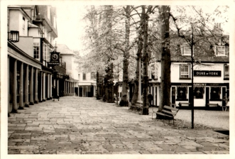 Original photograph of the Duke of York on the Pantiles December 1959.