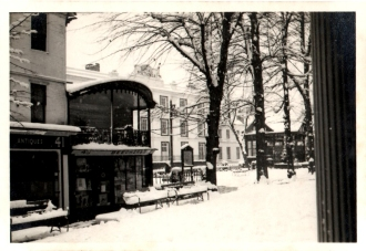 Original photograph of the music stand on the Pantiles 10/1/1960.