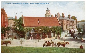 Postcard of King Charles the Martyr circa 1912.