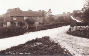 Postcard of the Forge, Withyham.