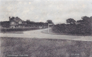 Postcard of Hildenborough, Stocks Green, July 1914.